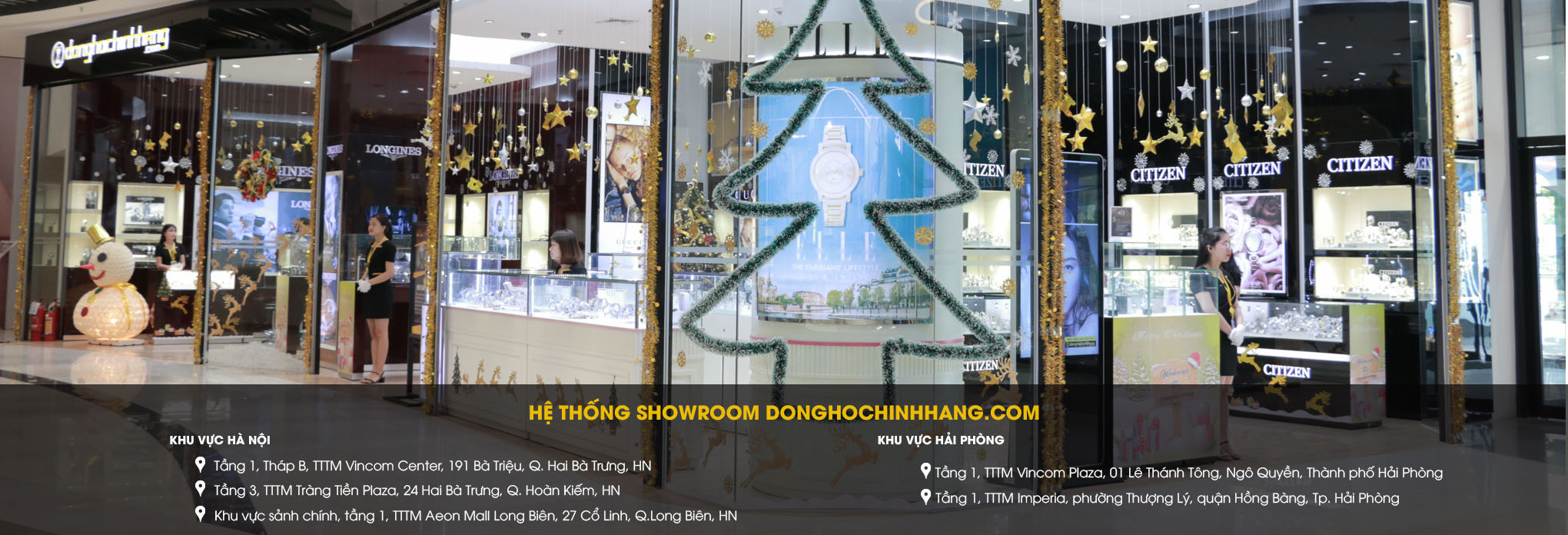 he thong showroom donghochinhhang
